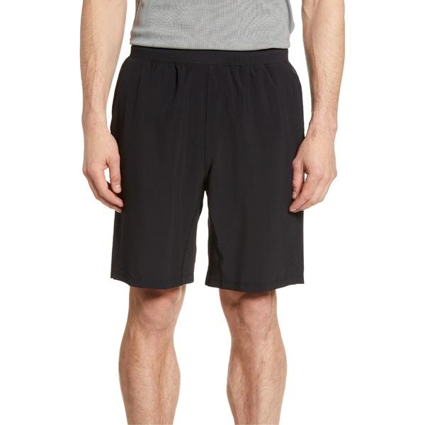 ゼラ メンズ カジュアルパンツ ボトムス Zella Core Stretch Woven Shorts Black