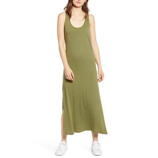 カレント エリオット レディース ワンピース トップス Current/Elliott The Twisted Maxi Dress Loden Green