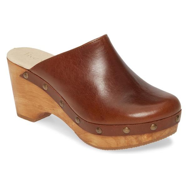 コルダーニ レディース サンダル シューズ Cordani Zorba Clog (Women) Brown Leather