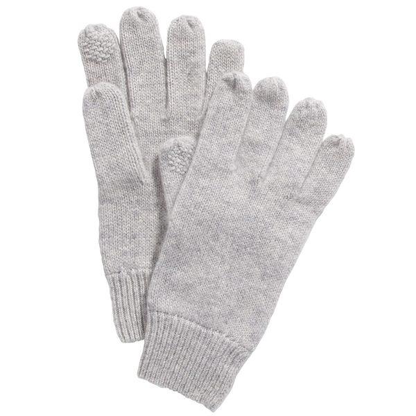 チャータークラブ レディース ショップ アクセサリー 手袋 Heather Grey 全商品無料サイズ交換 Macy's Tech Gloves for Cashmere Created 特価キャンペーン