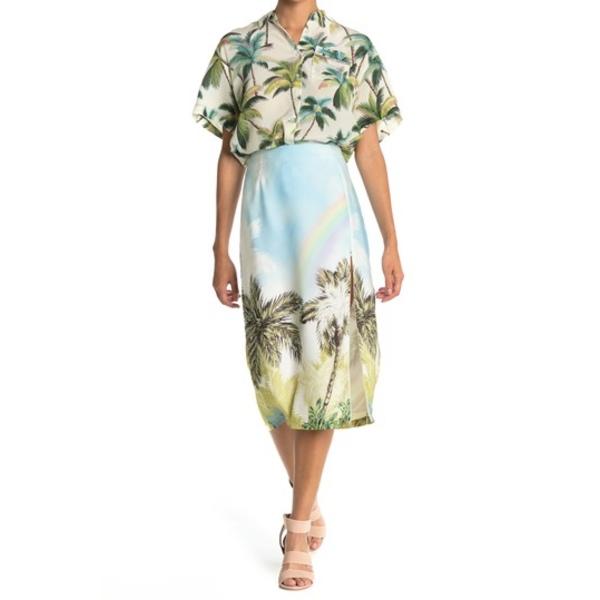 至上 ル シュペルブ レディース ボトムス スカート SMWHR OVR Escondido Printed 流行 Skirt Zip THE 全商品無料サイズ交換 Midi