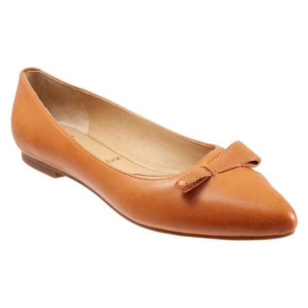 トロッターズ レディース サンダル シューズ Trotters Erica Skimmer (Women) Caramel Leather