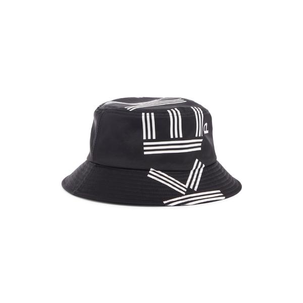 ケンゾー レディース 帽子 アクセサリー KENZO Bob Logo Bucket Hat Black
