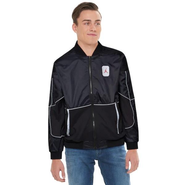 ジョーダン メンズ ジャケット&ブルゾン アウター Retro 5 Jacket Black/University Red