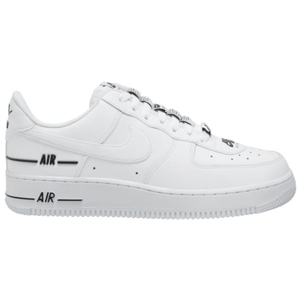 ナイキ メンズ バスケットボール スポーツ Air Force 1 LV8 White/White/Black
