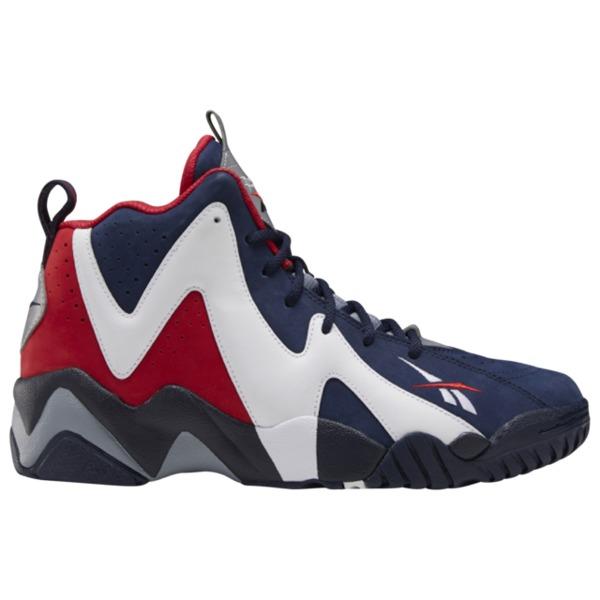 リーボック メンズ バスケットボール スポーツ Kamikaze II Navy/White/Red