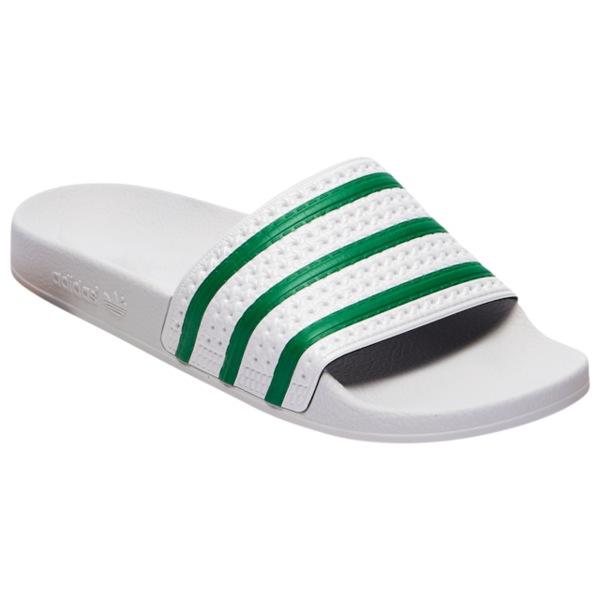 サンダル Slide Dash Adilette Grey/Green/Dash メンズ Grey アディダスオリジナルス シューズ