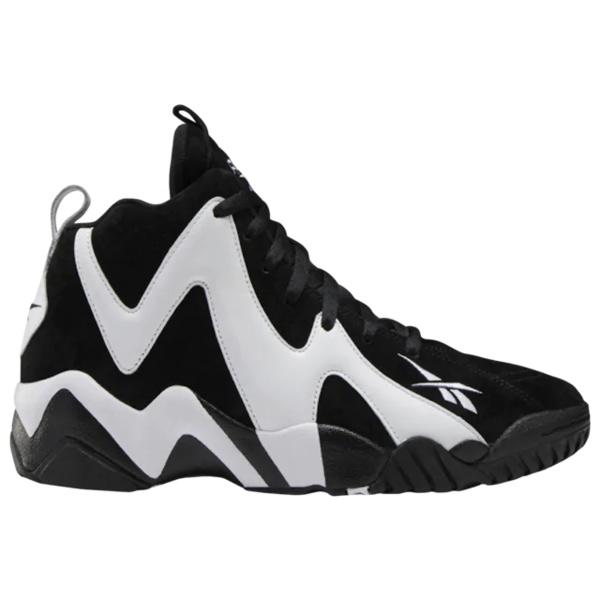 リーボック メンズ バスケットボール スポーツ Kamikaze II Black/White/Black | avail to ship early July
