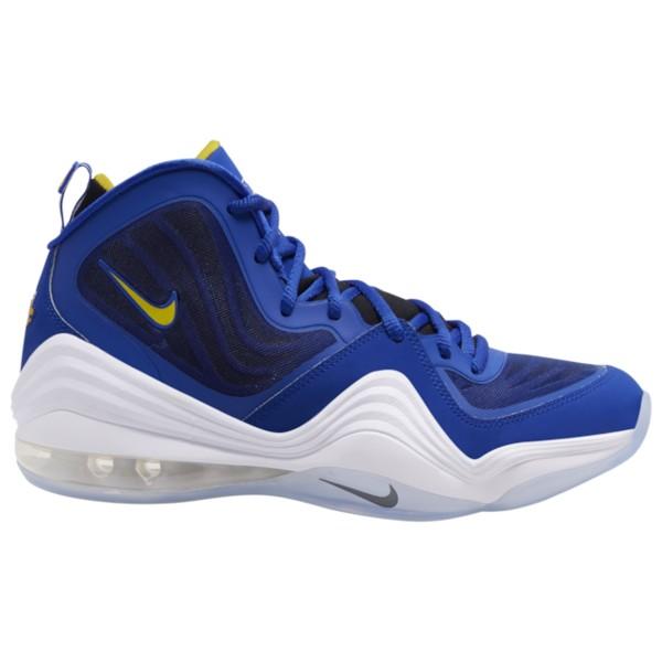 ナイキ メンズ バスケットボール スポーツ Air Penny V Bright Blue/Yellow Streak/White/White