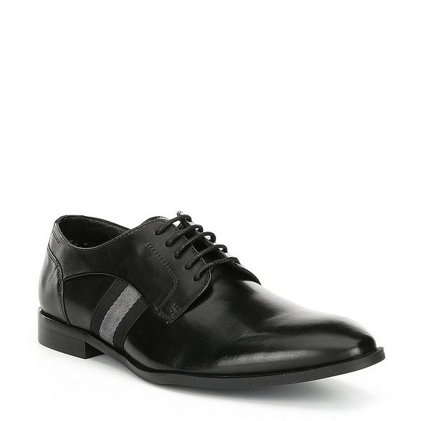スティーブ ドレスシューズ マデン メンズ ドレスシューズ シューズ Mens Black Eager Leather Oxford Oxford Black, 照明ペンダントライトのm&S:8291eccf --- wap.assoalhopelvico.com