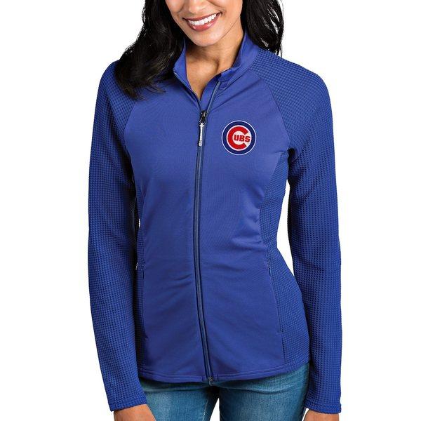 アンティグア レディース ジャケット&ブルゾン アウター Chicago Cubs Antigua Women's Sonar Full-Zip Jacket Royal