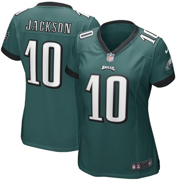 ナイキ レディース シャツ トップス DeSean Jackson Philadelphia Eagles Nike Women's Game Player Jersey Green