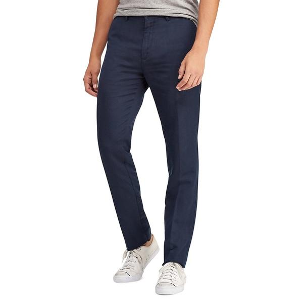 ラルフローレン メンズ カジュアルパンツ ボトムス Classic-Fit Logo Pants Aviator Navy