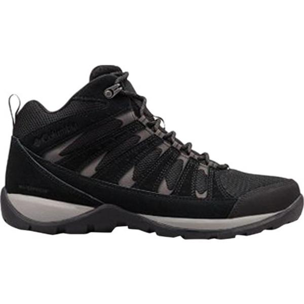コロンビア メンズ ブーツ&レインブーツ シューズ Redmond V2 Mid Waterproof Boot Black/Dark Grey