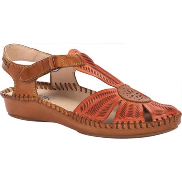 ピコリーノス レディース サンダル シューズ Puerto Vallarta Closed Toe Sandal 655-0575 Scarlet Calfskin