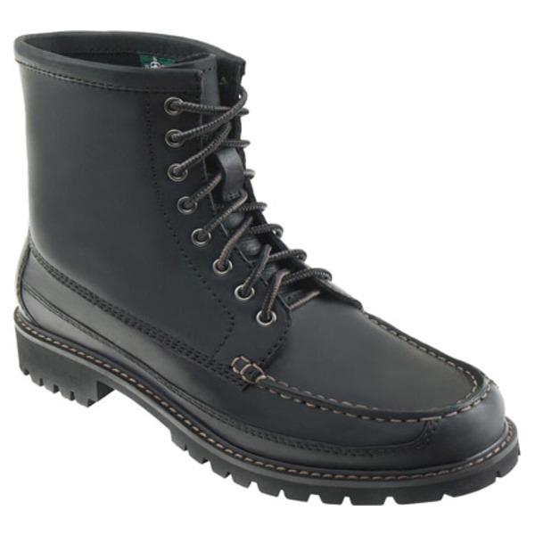 イーストランド レディース ブーツ&レインブーツ シューズ Charlie 1955 Moc Boot Black Leather