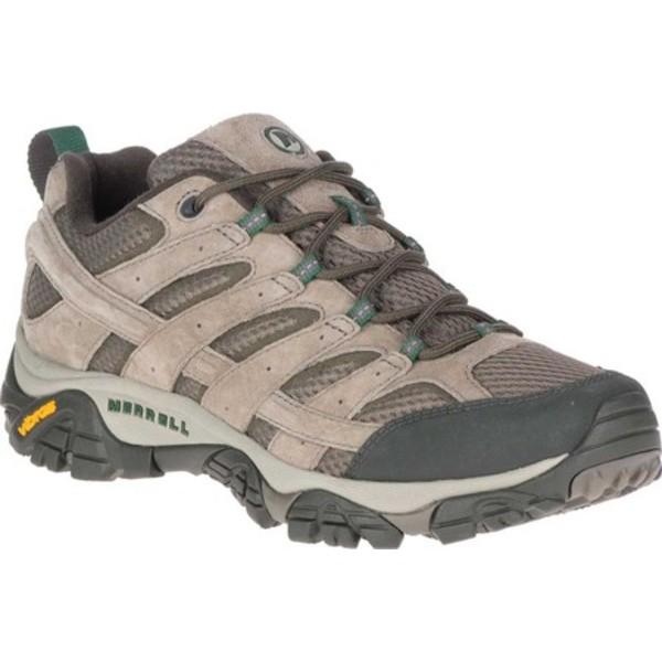 メレル メンズ ブーツ&レインブーツ シューズ Moab 2 Vent Hiking Shoe Boulder Pigskin Leather/Mesh