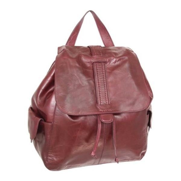 ニノボッシ メンズ バックパック・リュックサック バッグ Bobby Leather Backpack Burgundy
