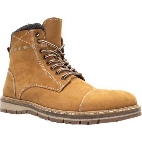 クレボ メンズ ブーツ&レインブーツ シューズ Fulham Ankle Boot Tan Leather