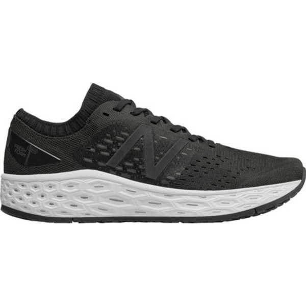 ニューバランス メンズ スニーカー シューズ Fresh Foam Vongo v4 Stability Running Shoe Black/Black Metallic