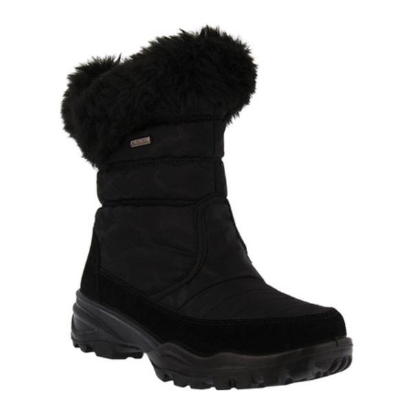 フレクサス レディース ブーツ&レインブーツ シューズ Korine Cold Weather Boot Black Nylon