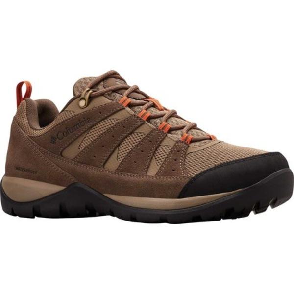 コロンビア メンズ ブーツ&レインブーツ シューズ Redmond V2 Waterproof Hiking Shoe Pebble/Desert Sun