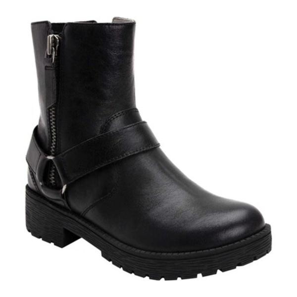 アレグリア レディース ブーツ&レインブーツ シューズ Charlette Harness Boot Crazyhorse Black Leather