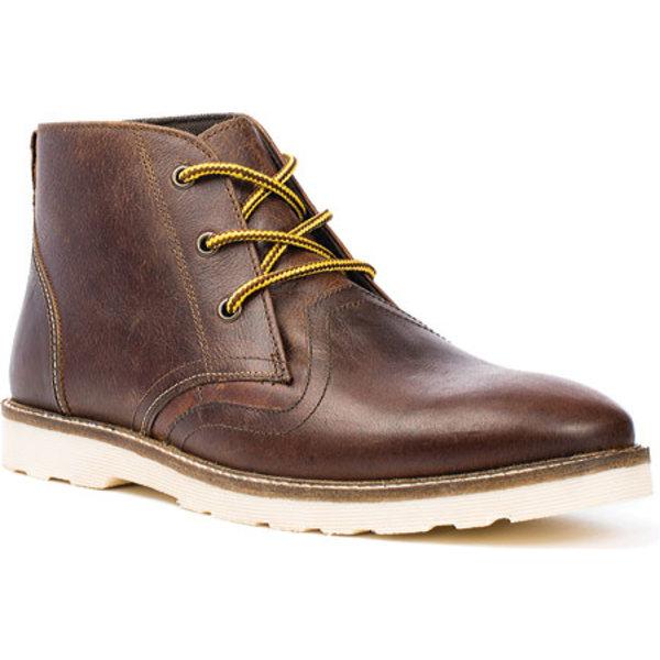 クレボ メンズ ブーツ&レインブーツ シューズ Cray Chukka Boot Chestnut Leather