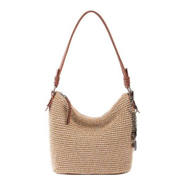 ザサック メンズ ビジネス系 バッグ Sequoia Crochet Small Hobo Bamboo Static Hand Crochet