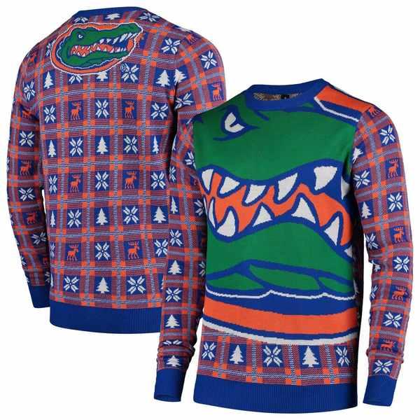 フォコ メンズ シャツ トップス Florida Gators Big Logo Sweater Royal