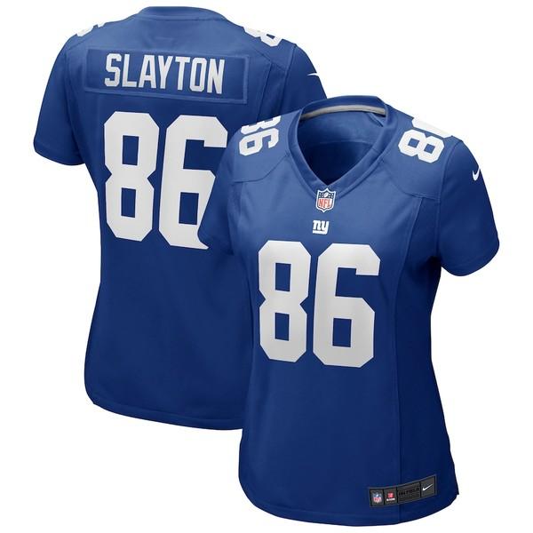 ナイキ レディース シャツ トップス Darius Slayton New York Giants Nike Women's Game Jersey Royal