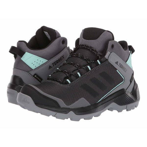 アディダス アウトドア レディース ブーツ&レインブーツ シューズ Terrex Entry Hiker Mid GTX Grey Four/Black/Clear Mint