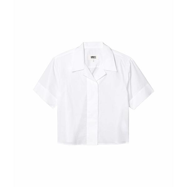 マルタンマルジェラ レディース シャツ トップス Oversized Vacation Shirt White