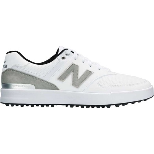 ニューバランス メンズ スニーカー シューズ 574 Greens NBG574G Waterproof Golf Shoe White Performance Mesh/Microfiber Leather