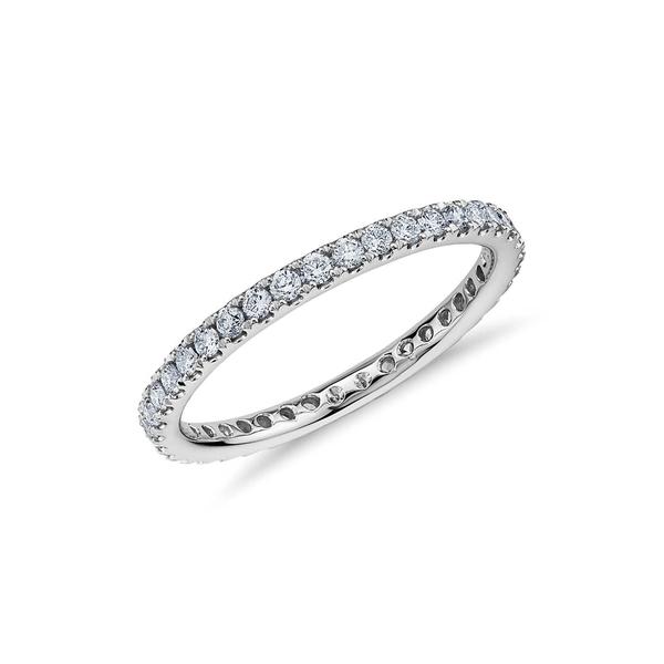 【予約中!】 スージレビアン レディース リング アクセサリー 14K White Gold Diamond Eternity Band Ring - 0.50ctw WHITE, ステップスポーツ daa32ed3