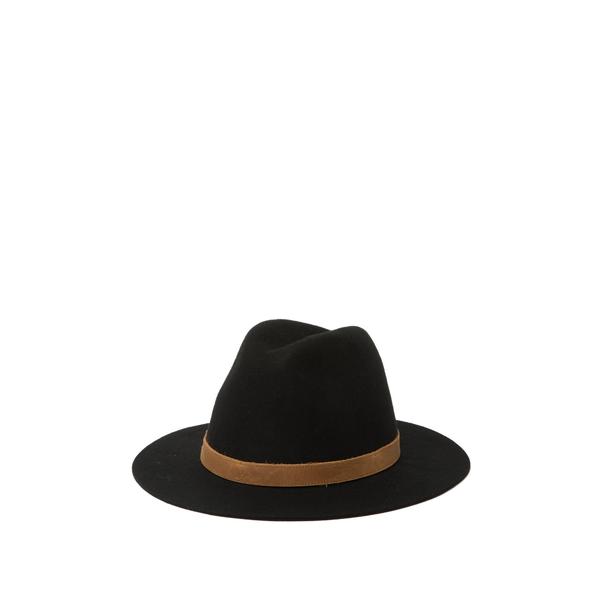 フライ レディース アクセサリー 帽子 最安値挑戦 ONYX - Crown 全商品無料サイズ交換 Tall 低廉 BLACK Felt Fedora