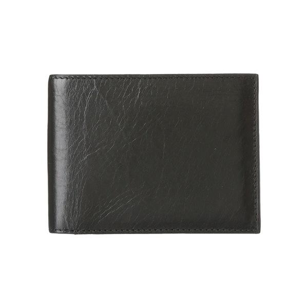 ボスカ メンズ 財布 アクセサリー Old Leather Continental I.D. Wallet Black