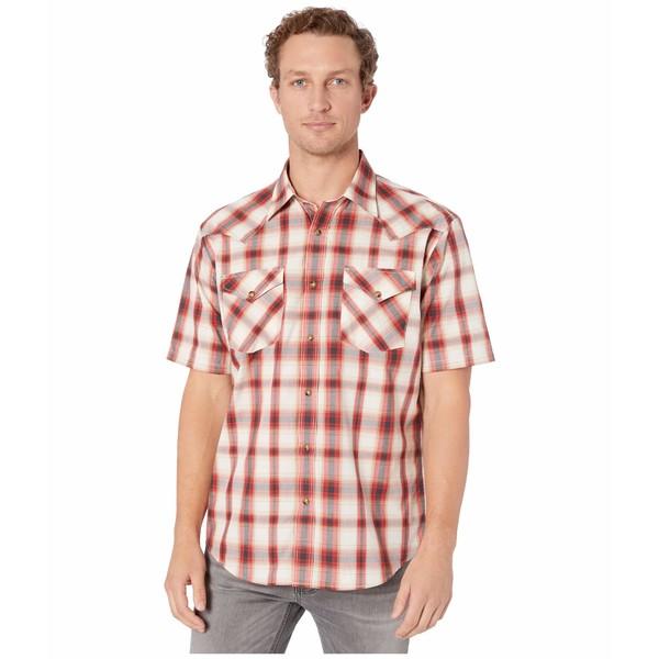 ペンドルトン メンズ シャツ トップス Frontier Shirt Short Sleeve Red Plaid