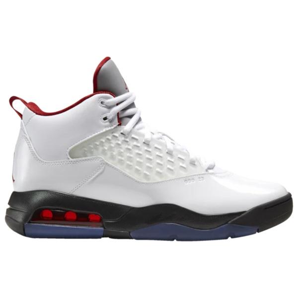 ジョーダン メンズ バスケットボール スポーツ Maxin 200 White/Gym Red/Black/Reflect Silver