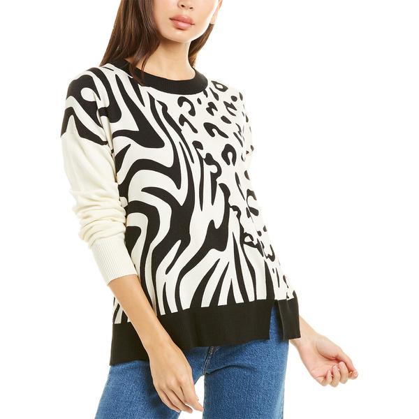 セントラルパークウェスト アウター ニット&セーター animal Animal ivory Park Central Sweater Print West レディース