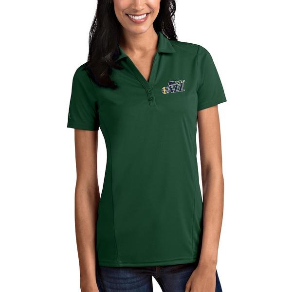 アンティグア レディース ポロシャツ トップス Utah Jazz Antigua Women's Tribute Polo Green