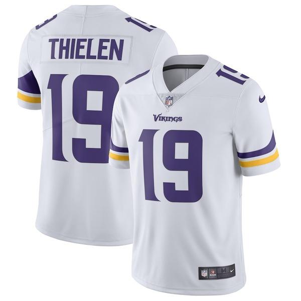 ナイキ メンズ シャツ トップス Adam Thielen Minnesota Vikings Nike Vapor Untouchable Limited Jersey White