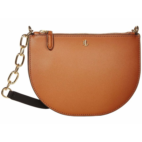 ラルフローレン レディース ハンドバッグ バッグ Super Smooth Leather Sutton 22 Crossbody Medium Lauren Tan/Vanilla/Black