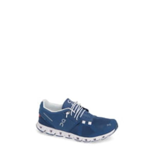 オン レディース スニーカー シューズ Cloud Running Shoe Denim/ White