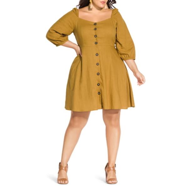 シティーシック レディース ワンピース トップス Summer Fling Dress Mustard