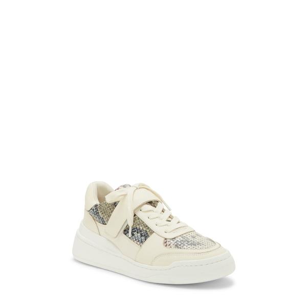 ヴィンスカムート レディース スニーカー シューズ Sargita Hidden Wedge Sneaker Multi/ Warm White Leather