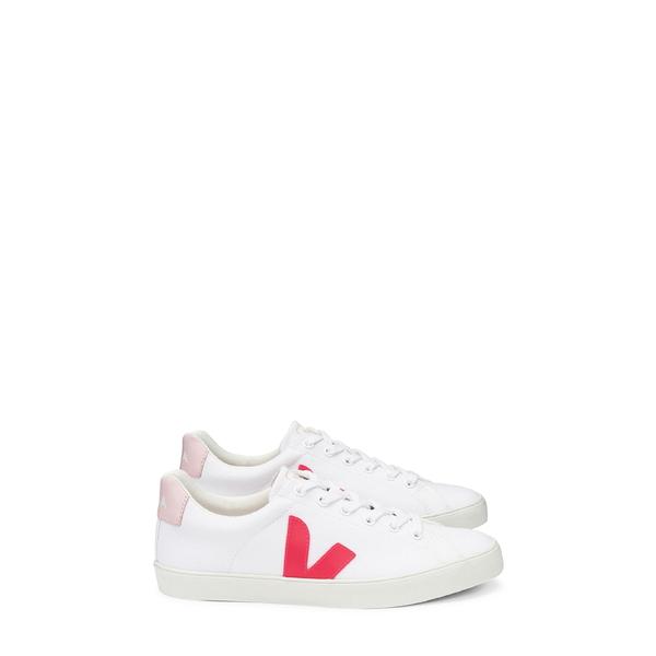 ヴェジャ レディース スニーカー シューズ Esplar SE Canvas Sneaker White/ Rose/ Petal