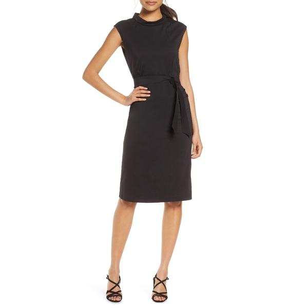 イルセヤコブセン レディース ワンピース トップス Shaped Poplin Dress Black