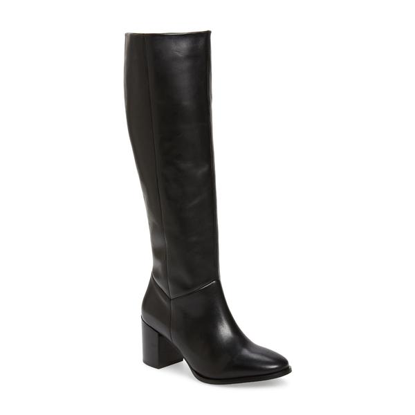 セイシェルズ レディース ブーツ&レインブーツ シューズ Twist of Fate Tall Boot Black Leather