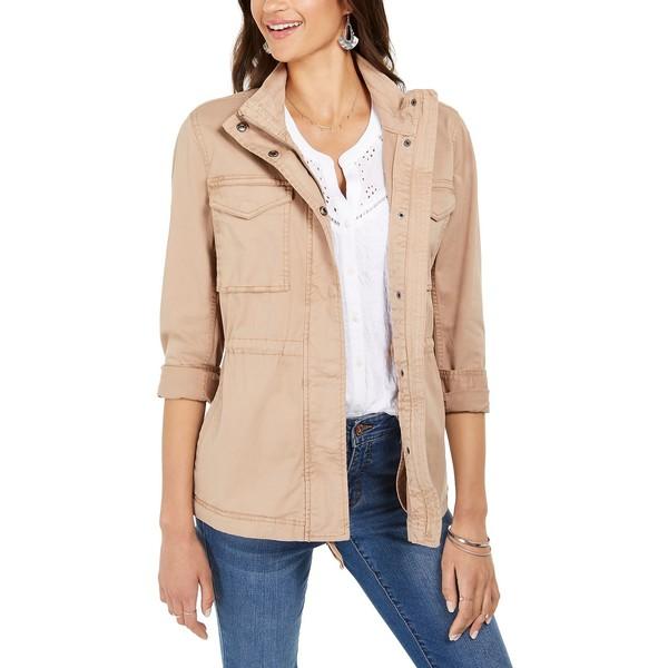 スタイルアンドコー トラスト レディース アウター ジャケット 1着でも送料無料 ブルゾン Doe Twill 全商品無料サイズ交換 Macy's Jacket Created for